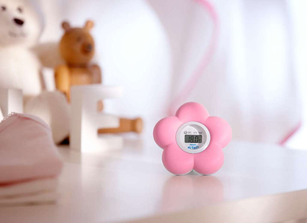 Thermomètre Numérique Bain et Chambre