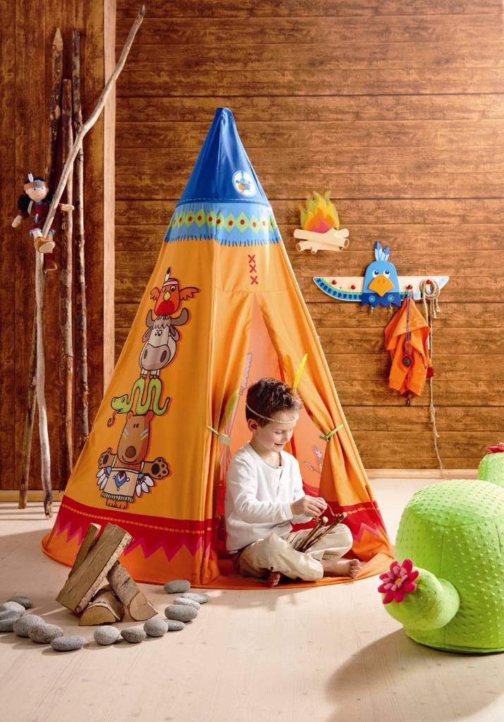 haba tente de jeu tipi doudouplanet. Black Bedroom Furniture Sets. Home Design Ideas