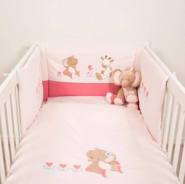 nattou tour de lit charlotte et rose doudouplanet