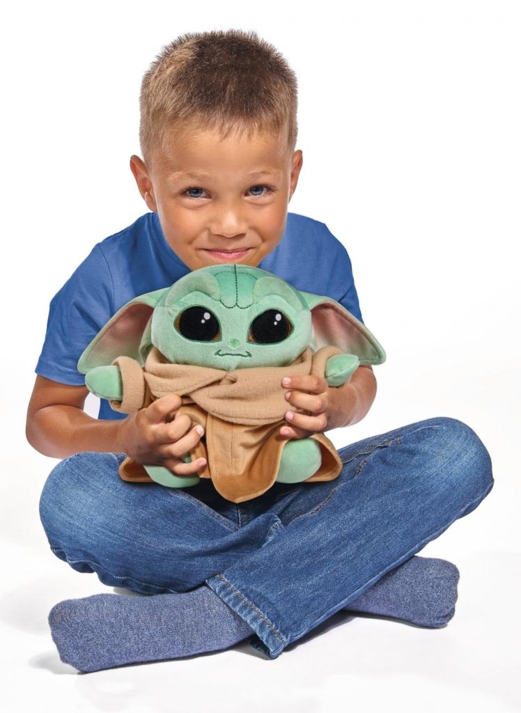 Peluche Mandalorian Grogu bébé Yoda - 25 cm