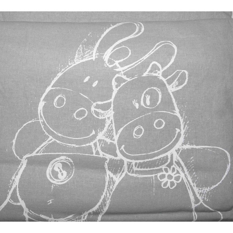 Housse de Couette Paquito et Lolita Lin - 140x100 cm