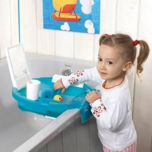 babymoov lavabo enfant turquoise doudouplanet. Black Bedroom Furniture Sets. Home Design Ideas