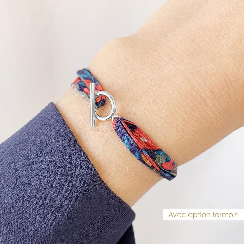 Bracelet Liberty Cordon Nuage Argent