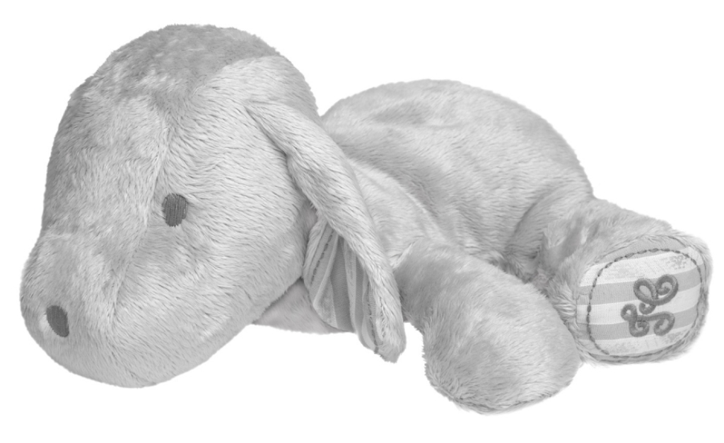 Peluche Chien Lucien - 25 cm