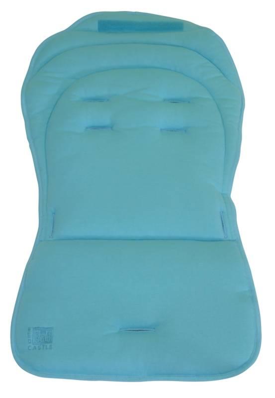 castle poussette whizz assise turquoise