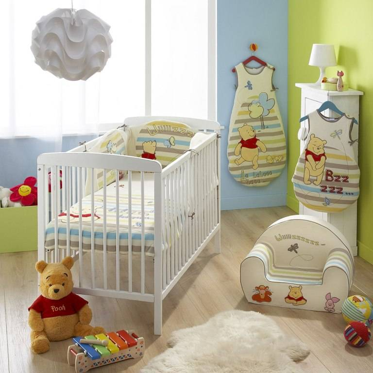 Deco Salon Blanc Cocooning :  lit winnie ourson discovery age naissance collection winnie l ourson