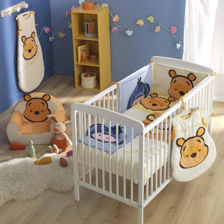 babycalin tour de lit winnie trombine doudouplanet. Black Bedroom Furniture Sets. Home Design Ideas
