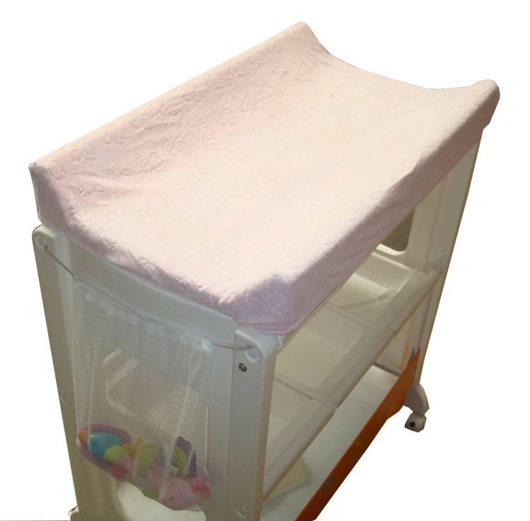 Babysun nursery housse de matelas langer bambou ivoire - Babysun nursery table a langer ...