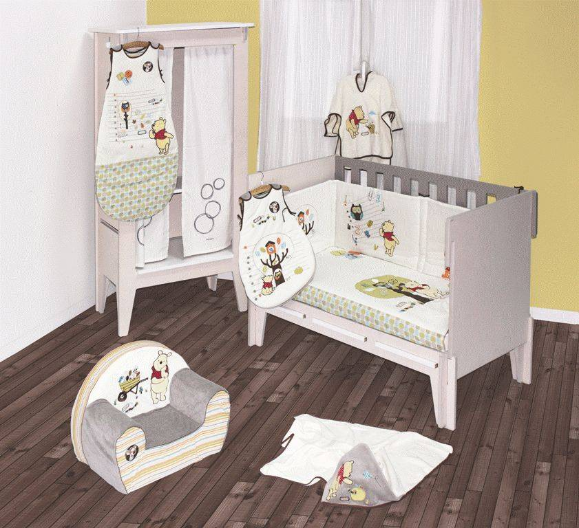 babycalin fauteuil club winnie woodland. Black Bedroom Furniture Sets. Home Design Ideas
