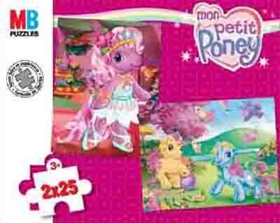 Puzzles 2x25 Pièces Mon Petit Poney