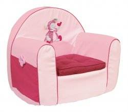 moulin roty fauteuil souris lila doudouplanet. Black Bedroom Furniture Sets. Home Design Ideas