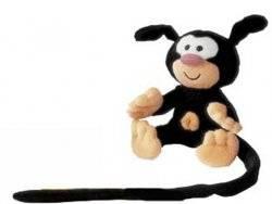 peluche bebe marsupilami noir