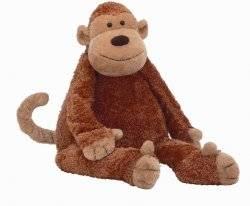 peluche geante singe