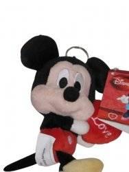 Disney Porte Clé Mickey avec Coeur
